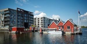 Lystbådehavnen på Sluseholmen