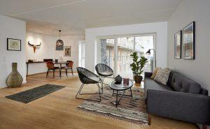 Stue i Hasselholm på Sluseholmen