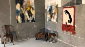 Kunst på Sluseholmen galleri