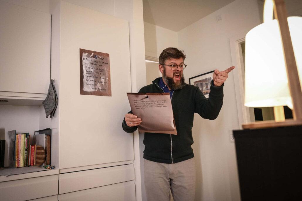 Operasanger i privat hjem