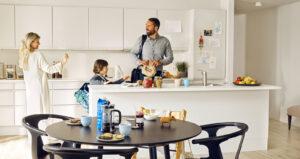 Slusehuset: Tidsløst og moderne køkken