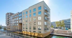 Slusehuset: Udsigt ned til kanalen