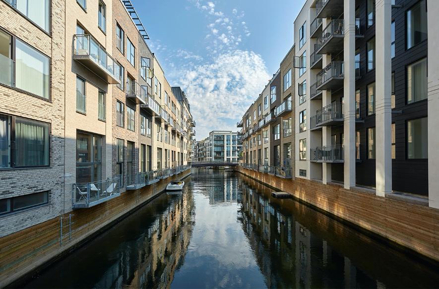 Sluseholmens kanaler