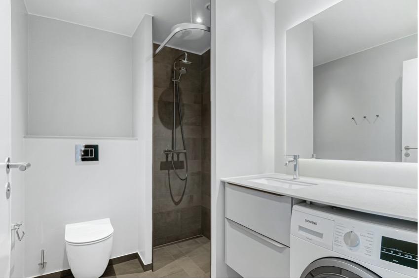 Badeværelse i den private del af lejemålet