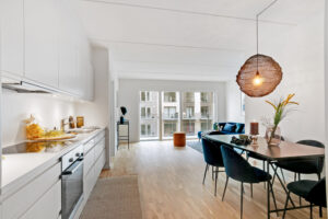 Køkken-alrum på Sluseholmen