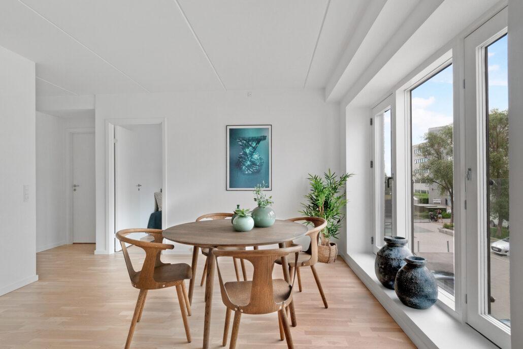 Spisestue i Molehuset på Sluseholmen